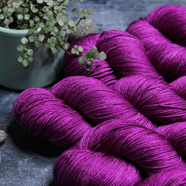 SILK MERINO - PURPLE RAIN